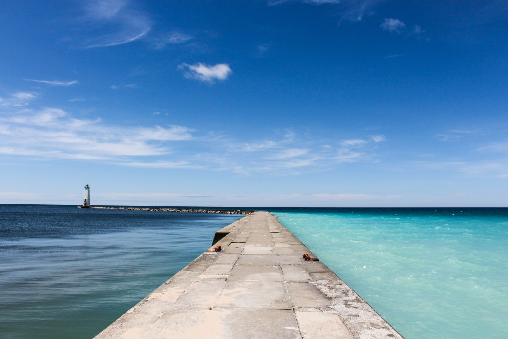 Frankfort Michigan Pier
