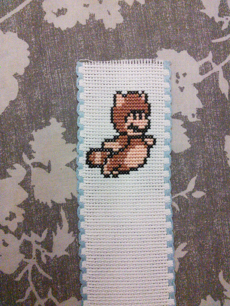 tanooki mario bookmark