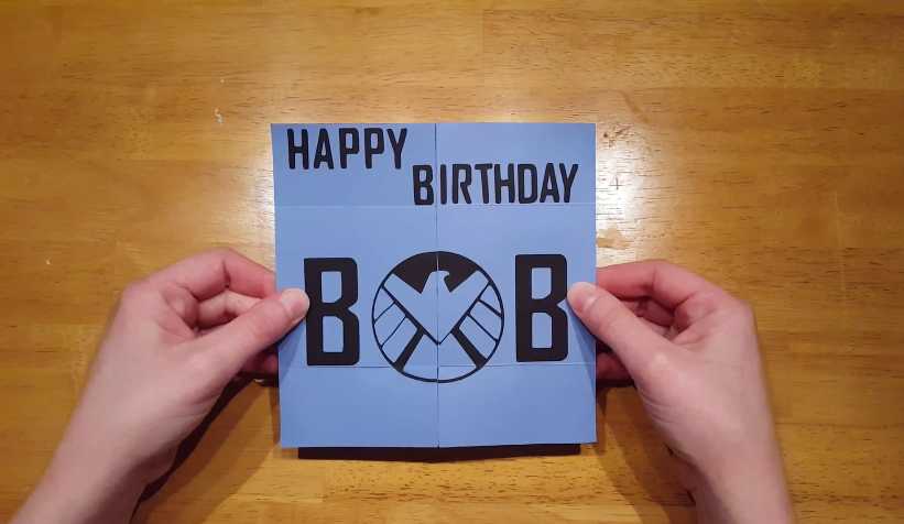 Marvel Agents of Shield Hydra Birthday Card
