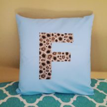 petoskey stone pillow